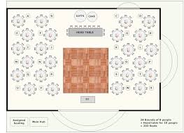 banquet plan space layout use this software to lay out the
