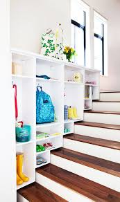 astounding under stair storage solutions with drawers in white