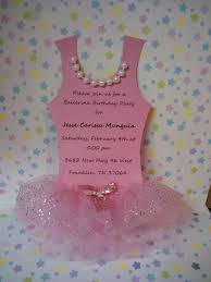 ballerina tutu party invitation set of 8 via etsy tutu themed