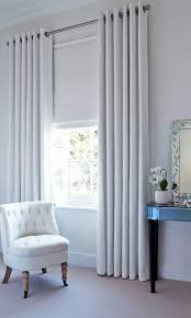 Ikea White Blind Curtains White Vertical Blinds Mied With Grommet Loose Curtain