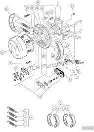 brakes rear brake assembly manually adjusted turf