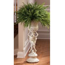 indoor plant stand french sculptural art patio furniture display