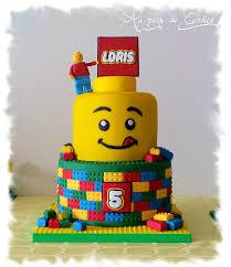 gateau anniversaire animaux gâteau lego au pays de candice