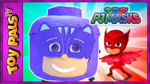 pj masks toys catboy surprise egg play doh pj masks cat