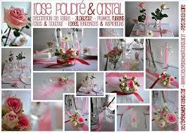 Decoration Mariage Tendance Décoration Rose Poudré U0026 Cristal Planche D U0027inspirations Mariage