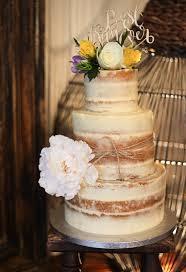 bespoke cakes artisana bespoke cakes 3 tier rustic semi wedding cake