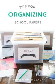 tips for organizing kids u0027 papers paper clutter free