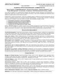 Operation Manager Resume Manager Resume Operations Sample Peppapp
