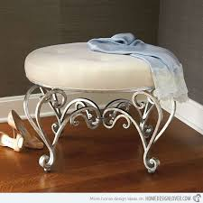Vanity Stools And Chairs 17 Elegant And Stylish Bedroom Vanity Stools Home Design Lover