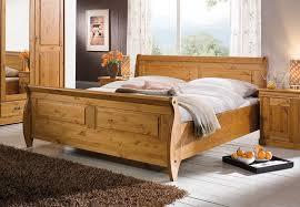 schlafzimmer kiefer massiv bett 180x200 kiefer massiv honigfarben lackiert