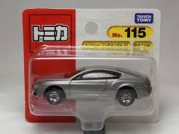sports car prices bentley continental tomica no 115 bentley continental gt 1 61 takara tomy japan ebay