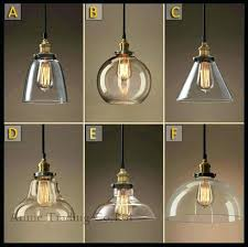 glass pendant light shades shade in clear glass glass