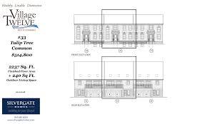 silvergate homes 2237 sq feet tulip tree common silvergate homes