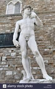 Michelangelo David Statue Statue Of David In Uffizi Gallery Florence Stock Photo Royalty