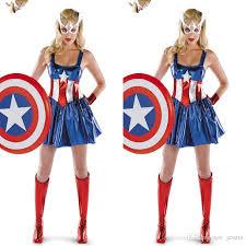 captain america super heroes bodysuits cosplay halloween