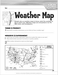 weather maps worksheets worksheets