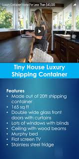 tiny house luxury shipping container tiny quality homes