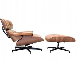 eames lounge chair in tan leather eames chair ebay eames chairs