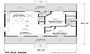 Sq Footage by Small House Plans Under 500 Sq Ft Regarding Download Small House
