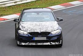 luxury bmw m3 2018 bmw m3 cs spy shots and video