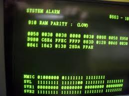 fanuc otc alarm 910 ram parity low beating head on floor