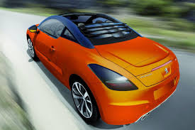 peugeot open top peugeot rcz view top concept by magna steyr shown ahead of geneva