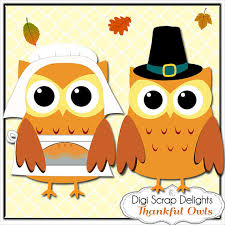 50 today thanksgiving owls pilgrims by digiscrapdelights 03