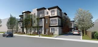 Row Houses by Sierra Vista Rowhouses U2014 Leah Alissa Bayer U0027s Portfolio