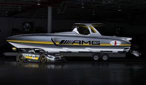 bugatti boat new mercedes amg gt3 cigarette boat revealed