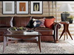 Ethan Allen Leather Chairs Ethan Allen Leather Sofa Youtube