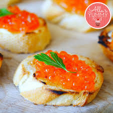 traditional canapes these caviar canapes are the bomb just take one look at these