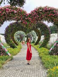 dubai miracle garden must visit place in dubai anna everywhere