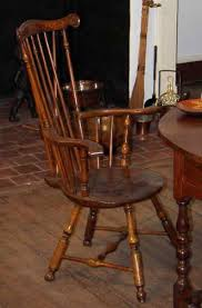 fan back windsor armchair furniture glossary