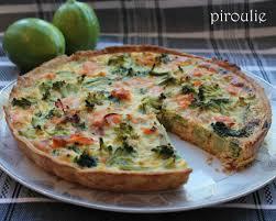 cuisiner le brocolis marmiton quiche au brocoli et saumon fumé d annaelle pâtisseries et