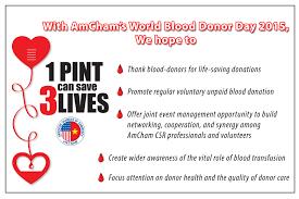 amcham vietnam amcham u0027s world blood donor days 2015