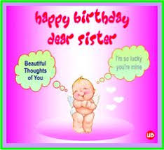 happy birthday wishes sister facebook 25846wall jpg happy