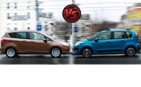 Comparatif Si E Auto B Essai Comparatif Ford B Max Contre Citroën C3 Picasso L