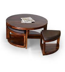 Coffee Table With Stools Underneath 12 Varieties Of Round Coffee Tables With Stools Underneath Coffe