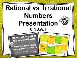 125 best rational vs irrational s images on pinterest