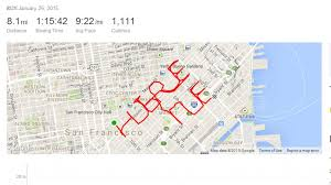 san francisco map my run runs 8 in shape of hire me to get abc news