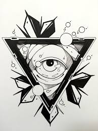 pin by vesal long on tattoos design pinterest triangle eye