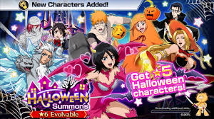 bleach brave souls halloween summons showcase youtube