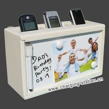 phone charger organizer recharging organizer mobile phone charging station valet charger