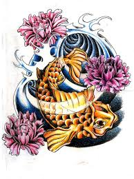 koi fish tattoo feminine tattoomagz