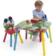 mickey mouse kids table mickey mouse table and chair set with storage walmart com
