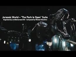 jurassic world the park is open score suite