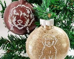 golden doodle ornament labradoodle ornament felt doodle