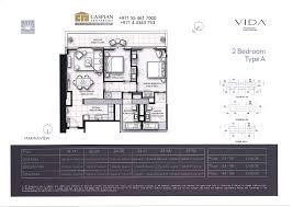 residence floor plan vida residence dubai marina floor plans