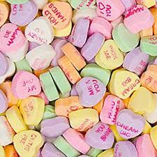 hearts candy necco conversation candy hearts 5lb bag grocery