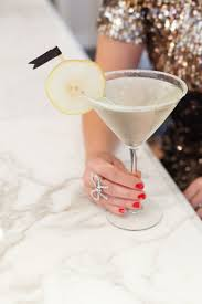 martini drinks french pear martini recipe